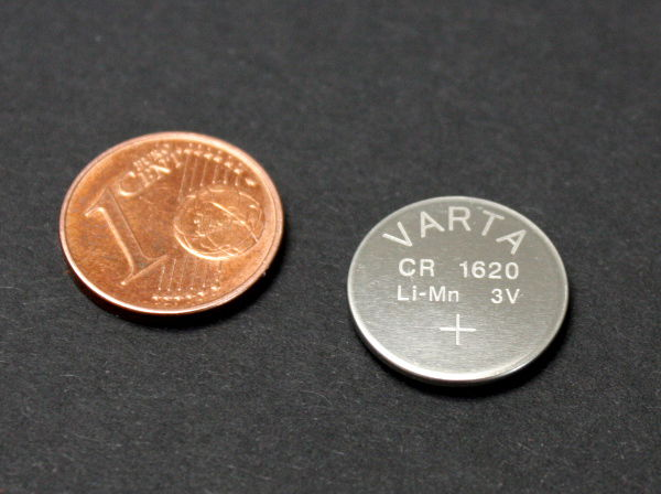 coin-cell battery for EMDR-device REMSTIM 3000
